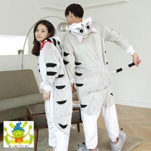 Пижама-кигуруми «Кот Чи» Материал  флис. Пол  унисекс. Цена  12 500 тенге.  9кот. Кигуруми « ... a541f29ce928a